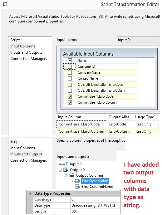 SSIS SQL Server Integration Services
